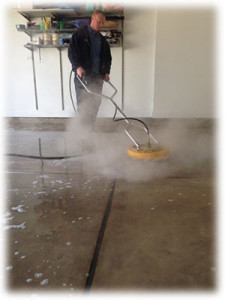 Garage Floor Cleaning